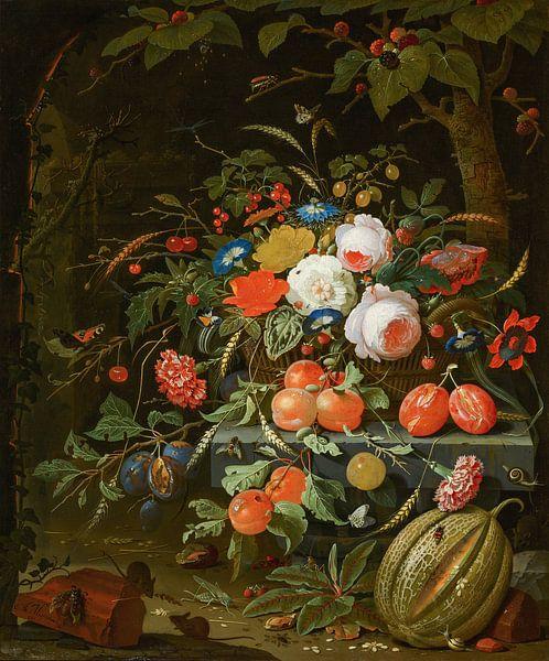 Blumen und Früchte, Abraham Mignon von Meesterlijcke Meesters