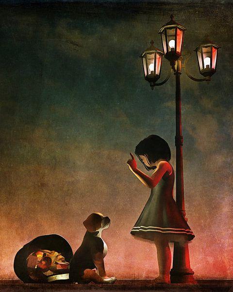 Kinderen Kunst: Stoute  hond van Jan Keteleer