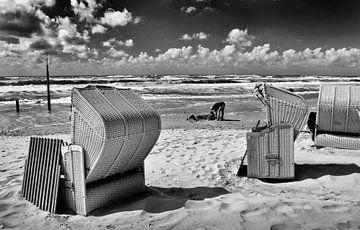 Het strand bij Egmond aan Zee. von Peter Hofwegen