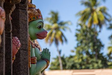 Hanuman @ Sri Ranganatha Swamy Temple, Trichy van Martijn Mureau