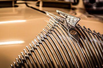 Chrysler grille met baleinen en hood ornament sur autofotografie nederland