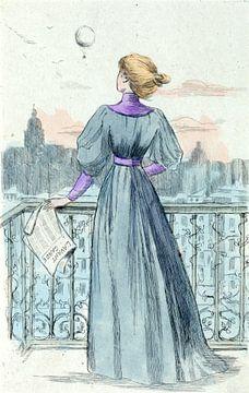 Damenmode des 19. Jahrhunderts in Paris (1870), Henri Boutet