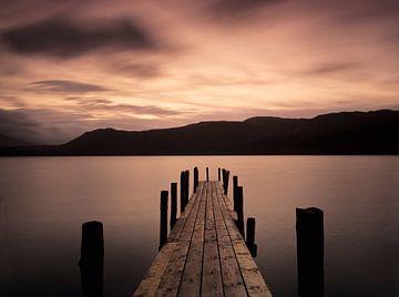 Derwent Water bei Sonnenaufgang, Lakedistrict, England von Markus Lange