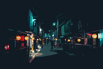 De straatjes van Gion van Mickéle Godderis
