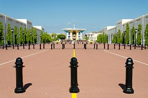 Oman - Al Alam Paleis (Sultan) in Muscat van