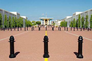 Oman - Al Alam Paleis (Sultan) in Muscat van Jack Koning