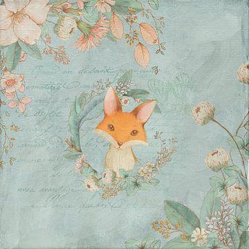Vintage Fuchs von Karin Schwarzgruber