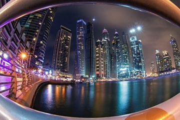 Marina de Dubaï sur Niels Tichelaar