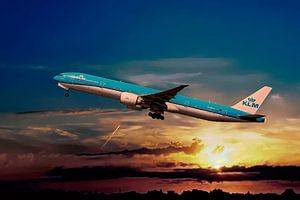 KL2020, KLM PH-BVO, Boeing 777-306(ER), Tijucana National Park