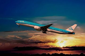 KLM PH-BVO, Boeing 777-306(ER), Tijucana National Park van