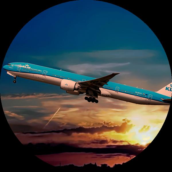 KL2020, KLM PH-BVO, Boeing 777-306(ER), Tijucana National Park van Gert Hilbink