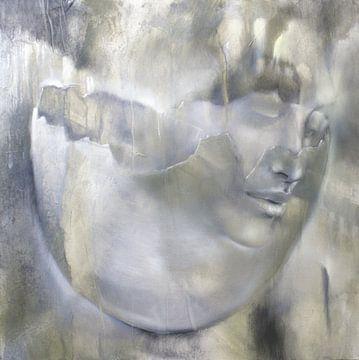 Portret en eierschaal van Annette Schmucker