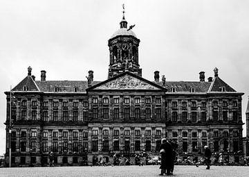 Königlicher Palast auf dem Dam-Platz in Amsterdam von Linsey Aandewiel-Marijnen