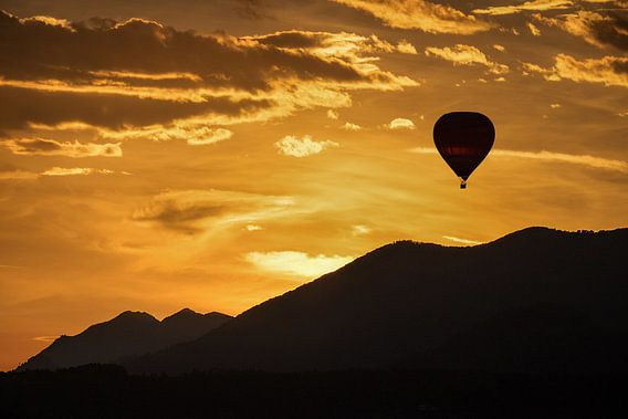In mijn luchtballon