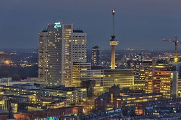 Euromast de Rotterdam sur Bob de Bruin