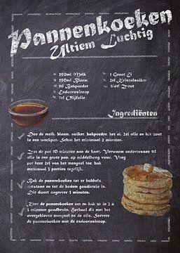 Dessert Recept: Luchtige Pannenkoeken van JayJay Artworks