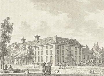 Der Admiraliteitshof in Rotterdam, Jan Bulthuis, 1790 - 1799