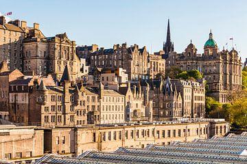 La vieille ville d'Édimbourg en Écosse sur Werner Dieterich