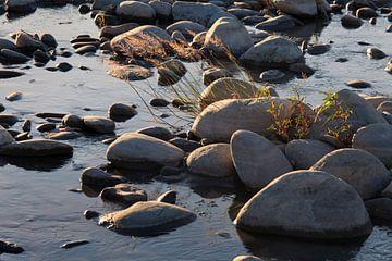 Keien in de stroom. van Rens Kromhout