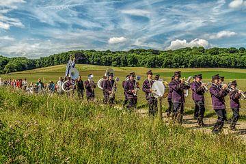 Processie Oud Valkenburg von John Kreukniet