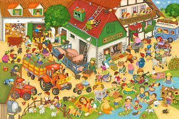 Ferien auf dem Bauernhof von