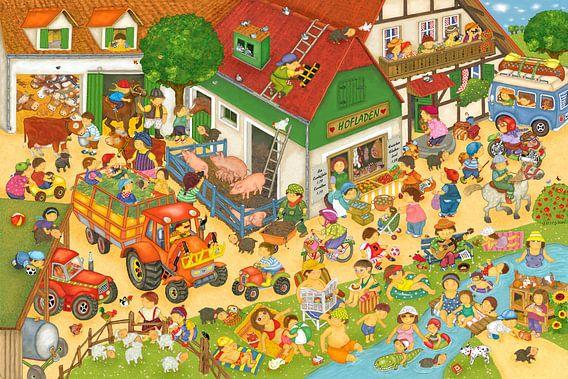 Ferien auf dem Bauernhof van Marion Krätschmer