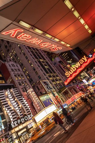 New york -  licht reclame Time Square