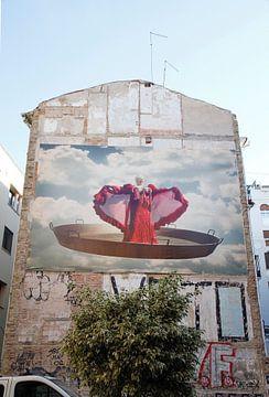 Spaanse muurkunst van Marlies Laenen