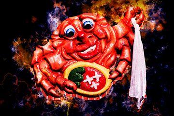 Le crabe de Berregais coloré sur Art by Jeronimo