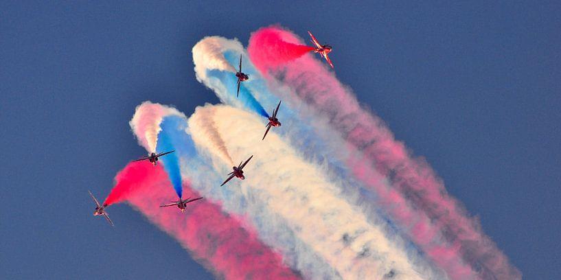 Red Arrows break van Rogier Vermeulen
