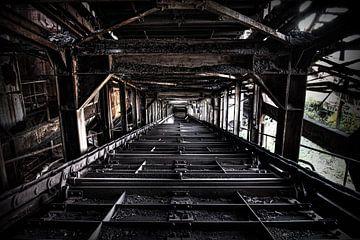 Usine d'agglomération abandonnée sur