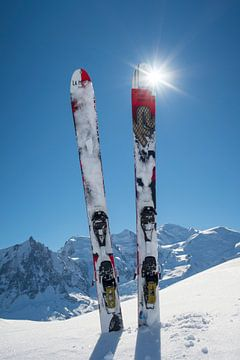 Ski Mont Blanc van Menno Boermans