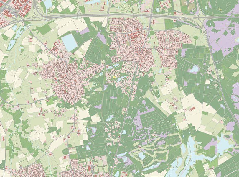 Kaart vanWaalre