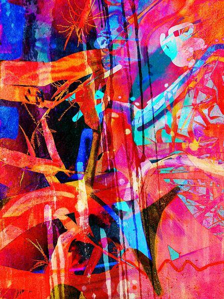 Modern, Abstract kunstwerk - Beautifully Broken van Art By Dominic