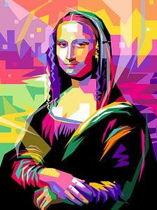 Pop Art Mona Lisa