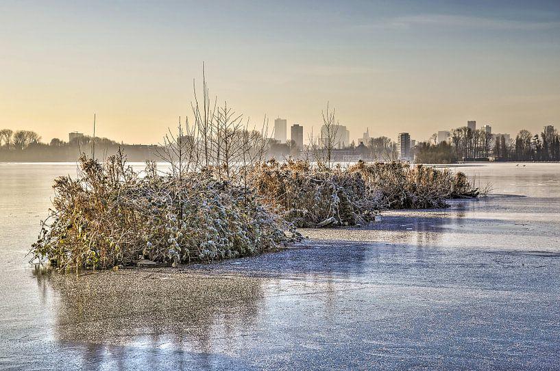 Winterse archipel van Frans Blok