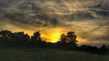 zonsondergang van Andrea Meister