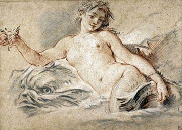 Sirene 1748, François Boucher von Atelier Liesjes