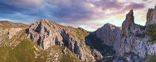 Wandeling door de kloof van Paklenica NP, Kroatië