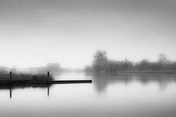 Nebliger Binnensee von Alvin Aarnoutse