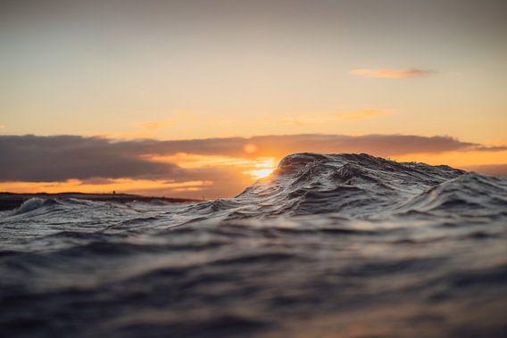 Sunset surf Domburg 2