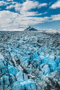 Gletsjers van het Alaska-gebergte van Denis Feiner