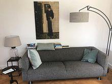 Klantfoto: George Hendrik Breitner. De Oorring, op canvas