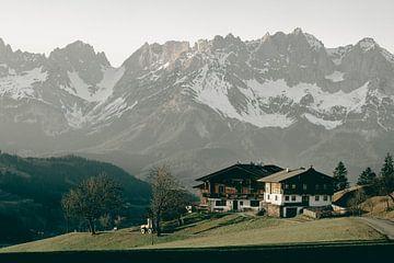 Zomerse Bergtoppen van Sophia Eerden
