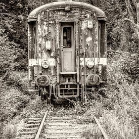 Vieux train sur Fotografie Arthur van Leeuwen
