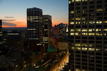 Stad Sydney in Australië van Ivonne Wierink