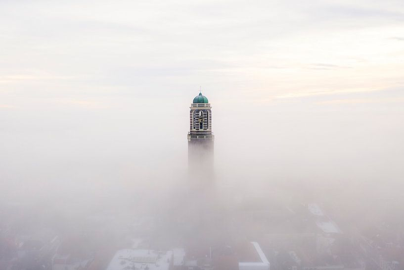 Zwolle in de Mist van Thomas Bartelds