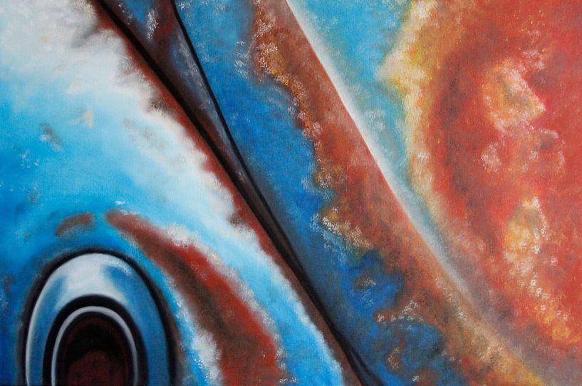 Beetle retro auto van anja verbruggen