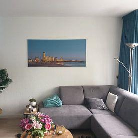 Klantfoto: Boulevard Vlissingen van Linda Raaphorst, op canvas