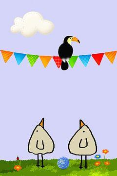 Ein Tukan- PiepVogel von Marion Tenbergen